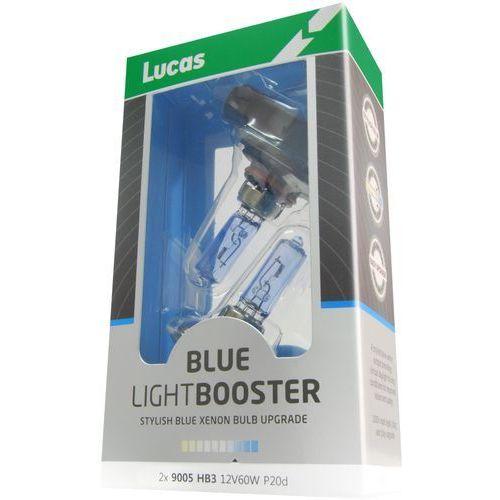żarówki samochodowe lightbooster h7 12v 55w blue 2 sztuki marki Lucas