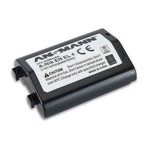 Akumulator ANSMANN do Nikon A-Nik EN EL 4 (2200 mAh) + DARMOWY TRANSPORT! (4013674022717)