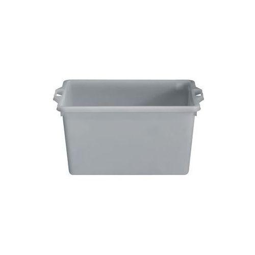 Pojemnik do ustawiania w stos z polietylenu, kształt stożkowy,poj. 65 l