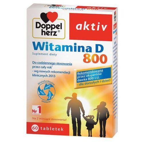 Tabletki DOPPELHERZ Aktiv Witamina D 800 x 60 tabletek