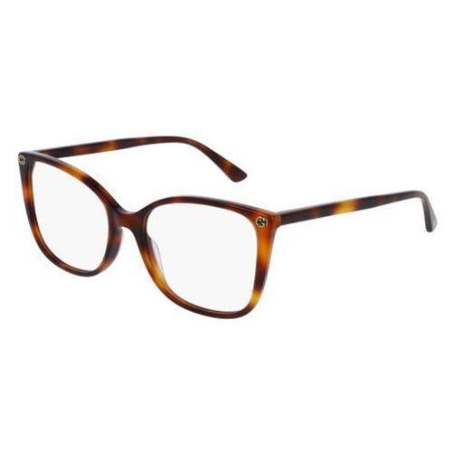 Gucci Okulary korekcyjne gg0026o 002