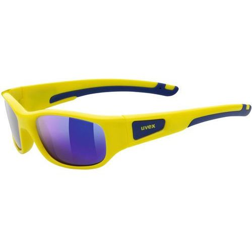 Uvex sportstyle 506 okulary rowerowe dzieci żółty/niebieski 2018 okulary przeciwsłoneczne dla dzieci (4043197264288)
