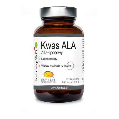 Kapsułki Kenay Kwas ALA kwas Alfa-liponowy 60 kapsułek - suplement diety