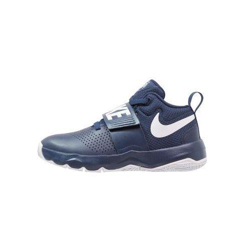 Nike Performance TEAM HUSTLE D 8 (GS) Obuwie do koszykówki midnight navy/white, 881941