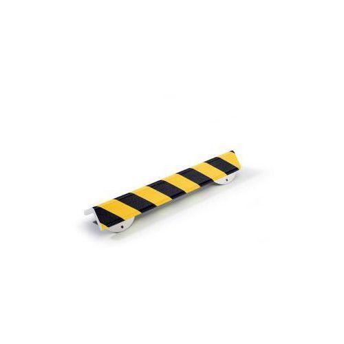 Profil ostrzegawczy i ochronny knuffi®,typ h+, dł. 500 mm, przekrój: duży półteownik marki Shg pur-profile
