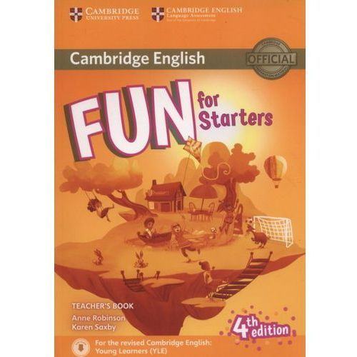 Fun for Starters Teacher`s Book + Downloadable Audio (144 str.)