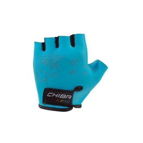 Rękawiczki  Girls dziecięce turkusowe r.M, Chiba z SPORT-PROFIT Rowery - Sklep Specjalistyczny