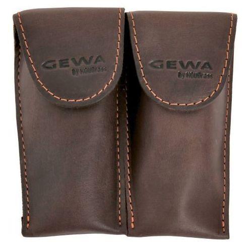 GEWA (720014) Torba na ustnik Crazy Horse Trąbka Double brown