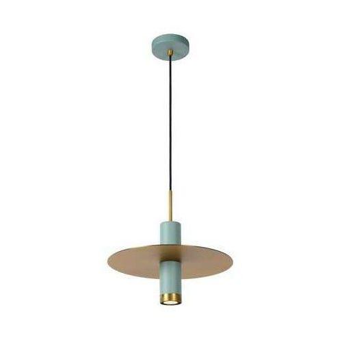 Lucide selin 03322/01/37 lampa wisząca zwis oprawa 1x35w gu10 turkusowa/miedziana (5411212031044)