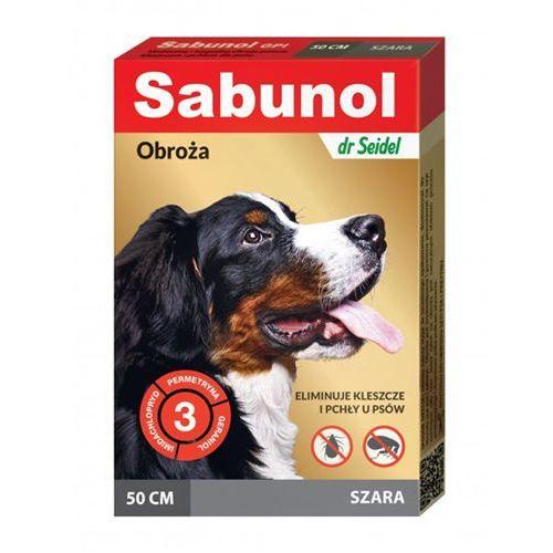 Obroża przeciw kleszczom i pchłom 50 cm marki Sabunol