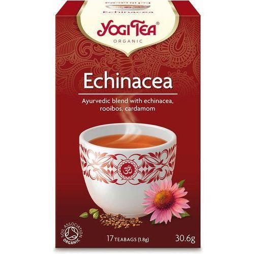Yogi tea : herbata echinacea bio - 17 szt. (4012824401549)