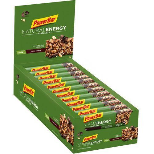 PowerBar Natural Energy Cereal Bar Box 24x40g, Cacao-Crunch 2019 Zestawy i multipaki (4029679854772)