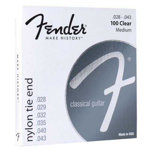 Fender 100 struny do gitary klasycznej