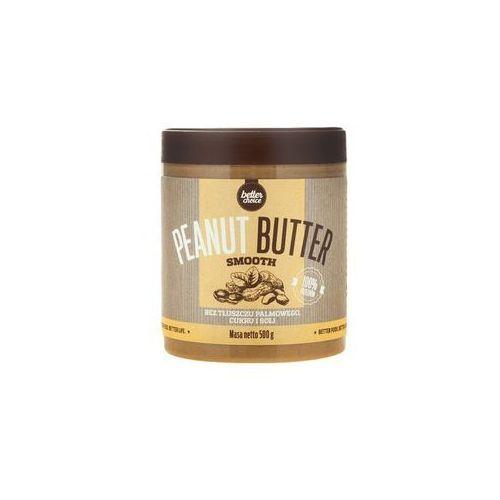 Krem orzechowy trec better choice peanut butter smooth 500g vanilia najlepszy produkt marki Trec nutrition