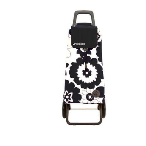 Wózek na zakupy Rolser RG Mountain Flor Blanco/Negro (wózek na zakupy)