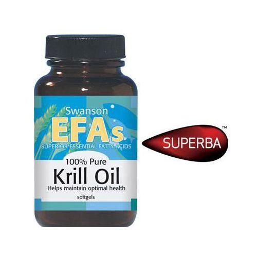 Oferta Swanson Krill Oil - Olej z kryla antarktycznego 60 kaps. z kat.: zdrowie