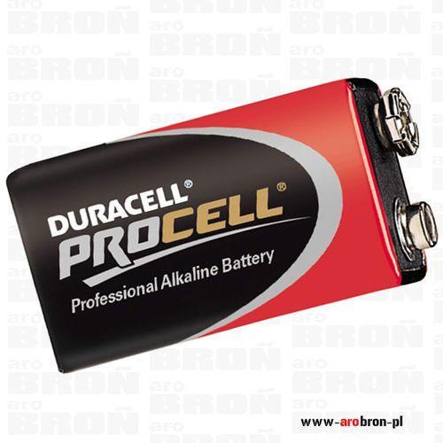 Bateria Duracell 9V do paralizatora