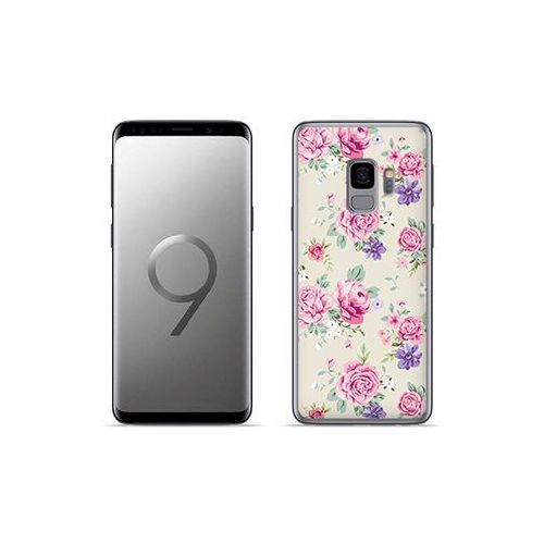 etuo Fantastic Case - Samsung Galaxy S9 Plus - etui na telefon Fantastic Case - pastelowe różyczki, ETSM672FNTCFC003000
