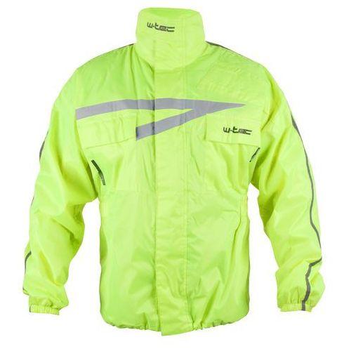 Motocyklowa kurtka przeciwdeszczowa rainy, fluo żółty, 3xl marki W-tec