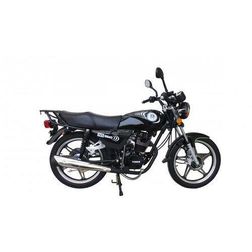 Motocykl TORQ Rimo 125 Czarny (2015) od Media Expert