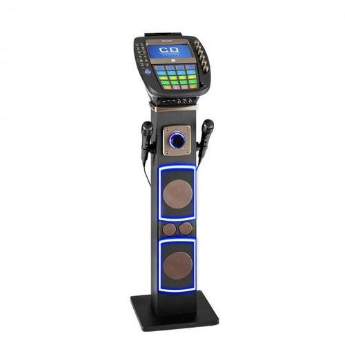 "Auna Karabig zestaw karaoke bluetooth led 7""tft cd usb głośnik built-in"