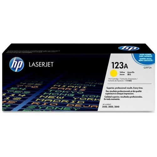 Hp Wyprzedaż oryginał color laserjet 2550 print cartridge, yellow (up to 2000 pages)