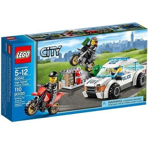 Lego City Superszybki pościg policyjny 60042 z kategorii: klocki dla dzieci