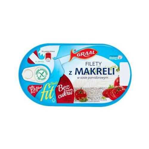 GRAAL 100g Filety z makreli w sosie pomidorowym Fit