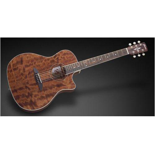 Framus fg 14 m - natural transparent satin + eq gitara elektroakustyczna
