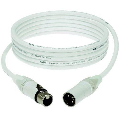 Klotz przewód mikrofonowy biały 1m