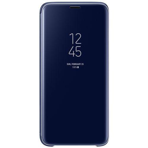 galaxy s9 clear view standing cover ef-zg960cl (niebieski) marki Samsung