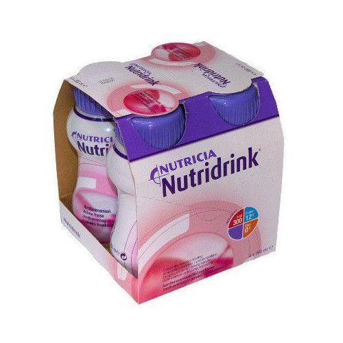 NUTRIDRINK o smaku truskawkowym 200ml x 4 sztuki