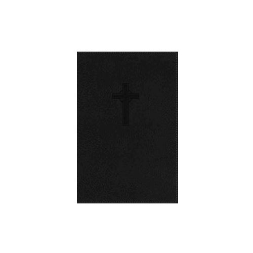 NKJV, UltraSlim Reference Bible, Leathersoft, Black, Indexed, Red Letter Edition (9780718011079)