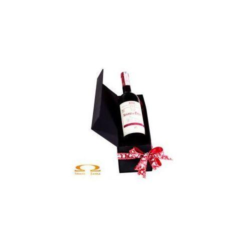 Zestaw Wino Señorio de P. Peciña Crianza Rioja Hiszpania 0,75l w ozdobnym pudełku, C604-68380