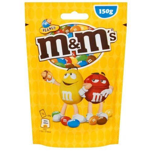 Orzeszki ziemne m&m's peanut oblane czekoladą w kolorowych skorupkach 150g marki Mars