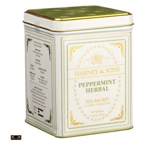 Herbata Harney & Sons Peppermint, puszka piramidki 20 szt.