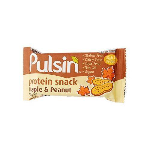 Protein snack maple & peanut 50g Pulsin