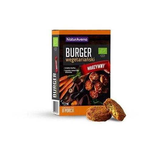 Burger wegetariański warzywny BIO 200g - Naturavena (5902367408343)