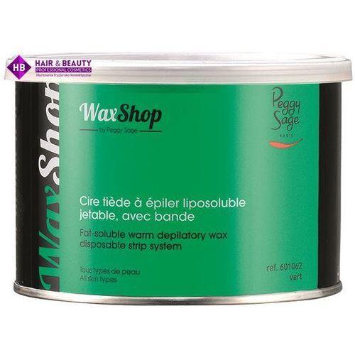 Peggy sage wosk do depilacji w letniej temperaturze zielony 400ml (ref.601062)