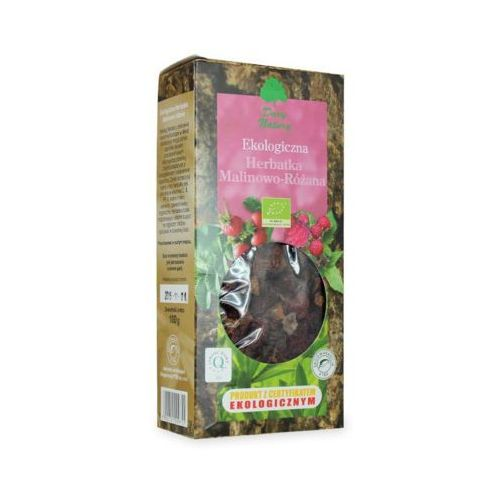 DARY NATURY 100g Herbata Malinowo - różana Liściasta BIO