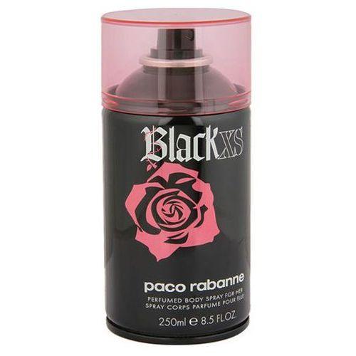 Paco rabanne black xs for her dezodorant spray 250ml + próbka gratis!