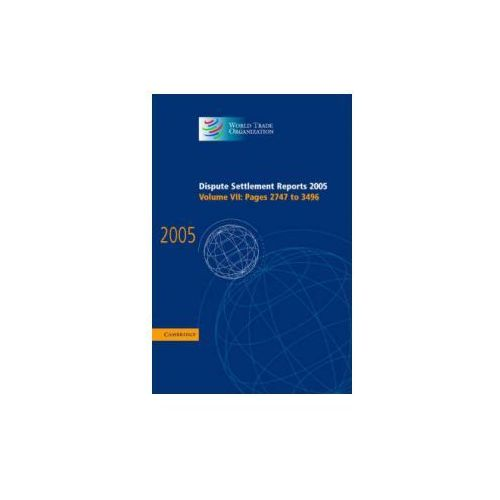 Dispute Settlement Reports Complete Set 178 Volume Hardback Set (9780521823227)