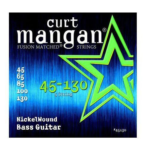 45-130 nickel wound bass 5-str marki Curt mangan