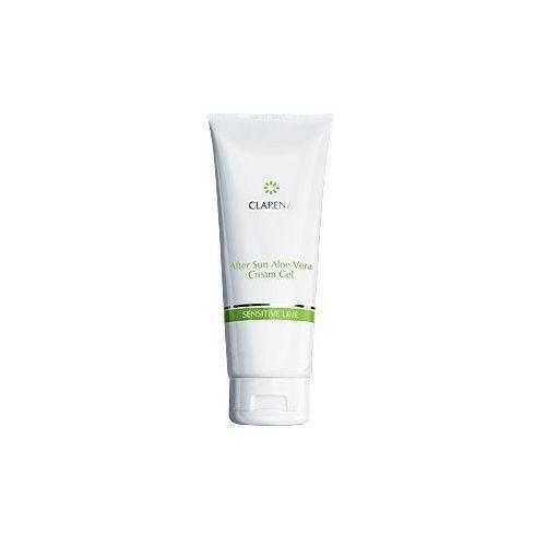 after sun aloe vera cream-gel kremożel regenerujący skórę po opalaniu 50 ml marki Clarena