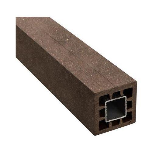 Winfloor Kantówka kompozytowa 6x6x190 cm brązowa wpc (5908443048205)