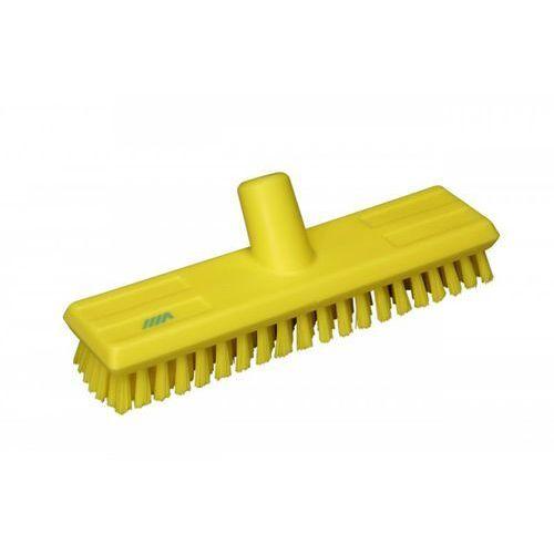 Szczotka do szorowania z doprowadzeniem wody, twarda, żółta, 270 mm, VIKAN 70416, marki Vikan do zakupu w Gastrosilesia