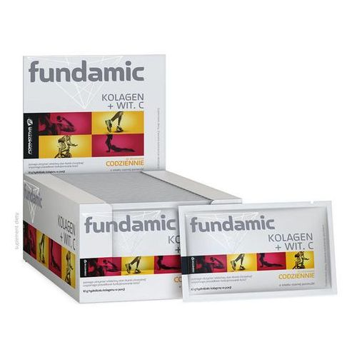 Fundamic kolagen + witamina c x 30 saszetek marki Aflofarm