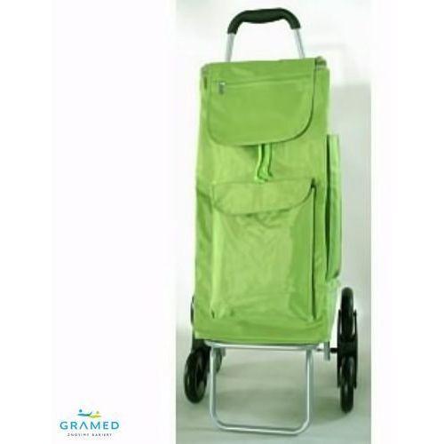 Wózek na zakupy - schodowy. (wózek na zakupy)