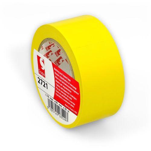 Scapa Taśma oznaczeniowa 2721 - żółta