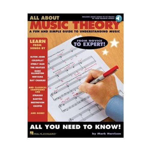 All About Music Theory (Book/Online Audio) (9781423452089)